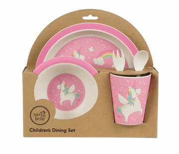 Sass & Belle Giftbox tableware set unicorn