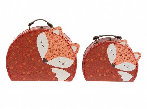 Sass & Belle Suitcase set Angus Fox (2st)