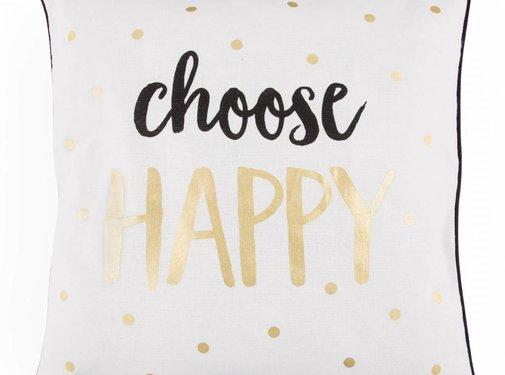Sass & Belle Cushion choose happy