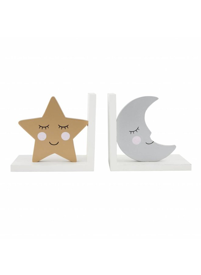 Bookend: Moon & Star sweet dreams
