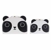 Sass & Belle Kofferset Aiko de Panda 2st
