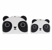 Sass & Belle Set of 2 suitcases Aiko the panda