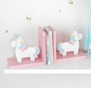 Sass & Belle Bookends rainbow unicorn