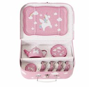 Sass & Belle Pic nic box tea set Betty the unicorn
