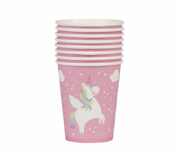 Sass & Belle Paper cups: unicorn 8pc