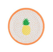 Sass & Belle Paper plate tropical: 8pc