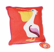 Rex London Cushion Pelican-colorful creatures