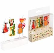 Rex London Candles colorful creatures 5pc