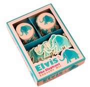 Rex London Cupcakeset Elvis de olifant