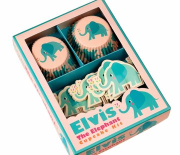Rex London Cupcake Kit Elvis the elephant