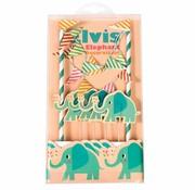 Rex London Cake bunting Elvis the elephant