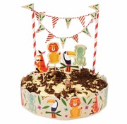 Rex London Cake bunting colourful creatures