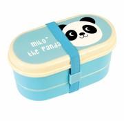 Rex London Bento box Miko the panda