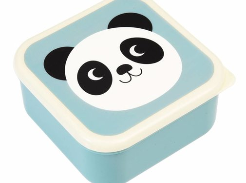 Rex London Set of 3 snackboxes panda, rabbit, cat