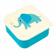 Rex London Set of 3 snack boxes Elvis the Elephant