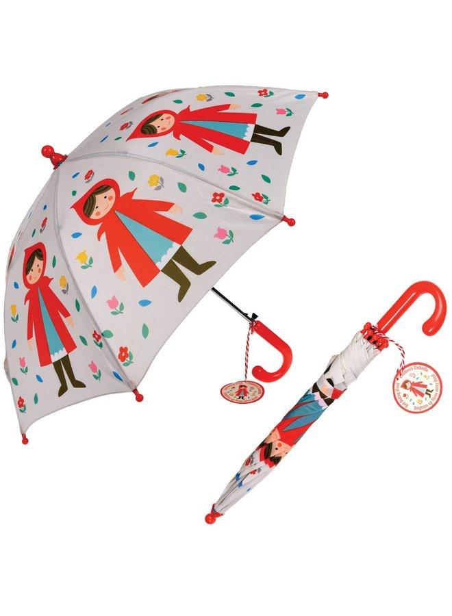 Umbrella Red Riding Hood