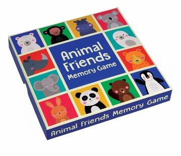 Rex London Memory kaarten kleurrijke dieren