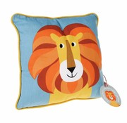 Rex London Kussen Charlie de Leeuw -kleurrijke dieren