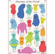 Rex London Gift wrap Monsters