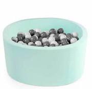 Misioo Ballenbad Missioo XL 115*40 mint -300 ballen pearl, 200 mint pearl