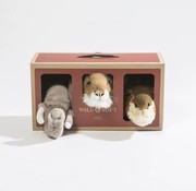 Wild & Soft Dierenhoofden box, safari