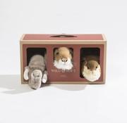Wild & Soft Mini trophy set: safari
