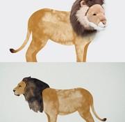 Wild & Soft Wall sticker Lion