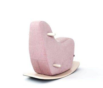 Ooh noo Design Schommelpaard, oud roze