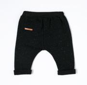 nixnut Patch Pants-Black Speckle-Nixnut