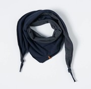 nixnut Stoere Sjaal-Donkerblauw/Antraciet-Nixnut
