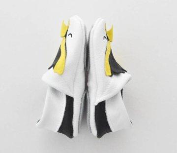 First baby shoes Geschenkverpakking: babyschoenen Pinguin
