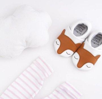 First baby shoes Geschenkverpakking: babyschoenen Vos