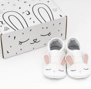 First baby shoes Geschenkverpakking: babyschoenen Konijn