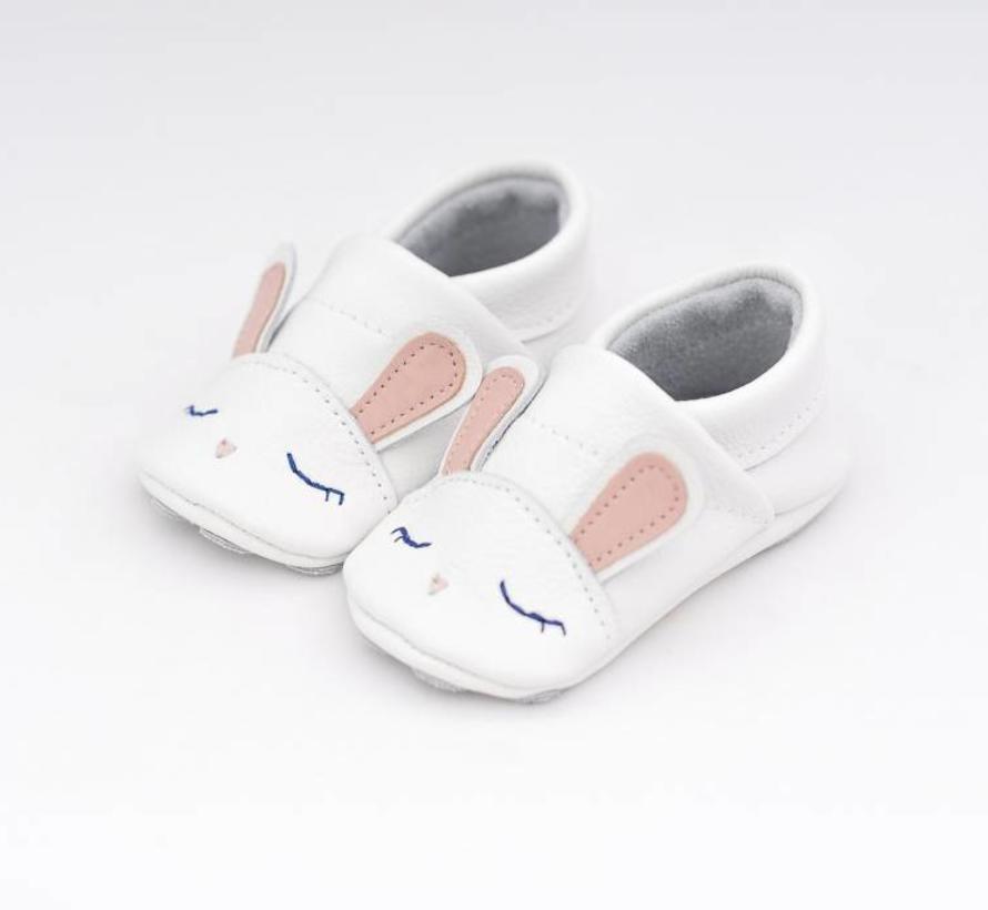 Geschenkverpakking: babyschoenen Konijn