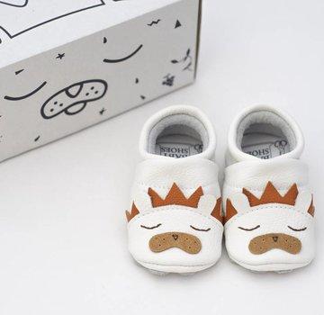 First baby shoes Geschenkverpakking: babyschoenen Leeuw-