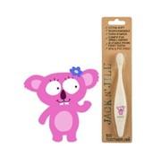 Jack 'n Jill Bio-afbreekbare tandenborstel-Koala-Jack 'n Jill