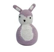 Sebra Tuimelrammelaar-vintage roze konijn-sebra