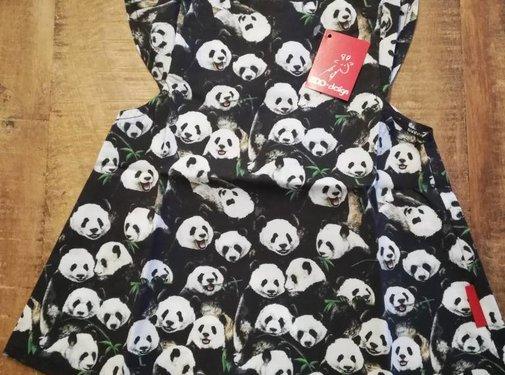 Zoo Design Jurk-Panda-Zoo design