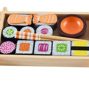 Magni Wooden sushi set, 3y+