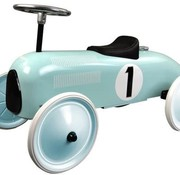 Magni Retro wagen, munt blauw, 12m+