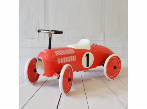 Magni Retro car, red, 12m+