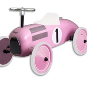 Magni Retro car,  pink,12m+