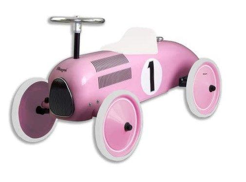 Magni Retro car,  pink,12m+