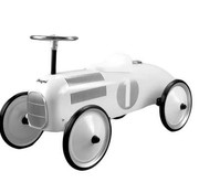 Magni Retro car, white-12m+