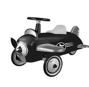 Magni Retro vliegtuig-zwart-12m+