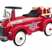 Magni Retro fire truck, red, 12m+