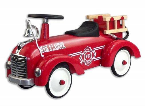Magni Retro fire truck, red, 12m+