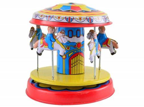 Magni Tinnen carrousel, decoratie