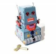 Magni Tinnen tankrobot-decoratie