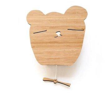 Ted&Tone Muziekdoos, beer, bamboo